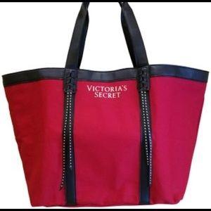 Victoria's Secret Limited Edition Black & Red Tote